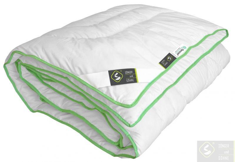 Одеяло демисезонное Hortensie (Tencel) Leicht XL 1680 г 200x220 см Songer und Sohne