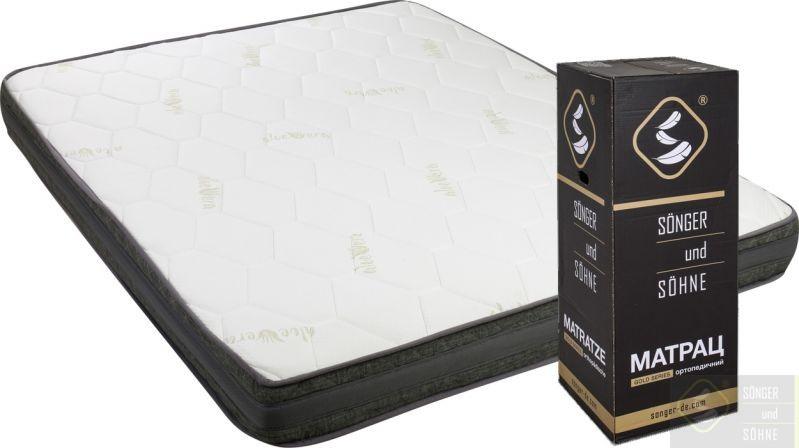 Матрас Gold Sonnig ортопедический в коробке и вакуумной упаковке Songer und Sohne 90х200 см